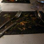 Salte Plate.. Such Presentation
