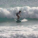 Maddie at Burkies Surf School