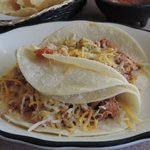 Grilled Chicken Tacos with cheese hold the rest!