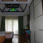Poolside villa - room view