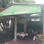 The entrance to El Sarape
