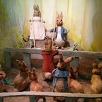 One of the scenes in the Beatrix Potter Museum