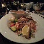 Trio of atlantic seafood