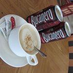 Lobby Bar Cappuccino and Bucanero