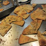 Herb Flatbread at Buffet