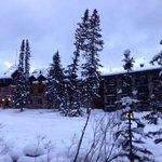 winter at the deer lodge
