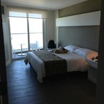 Habitación con 1 cama King