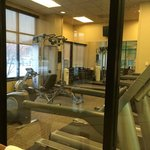 Fitness Room from Pool