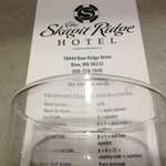 Foto de The Skagit Ridge Hotel