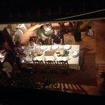 Comedor visto desde la terraza.