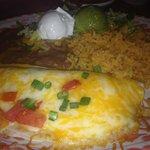 Lunch portion chicken quesedilla