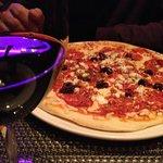 Wine and pizza at Il Bello.....
