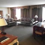 Suite Area at the Radisson LAX