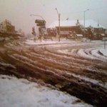 blackheath village under snow