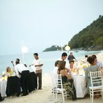 Beach reception