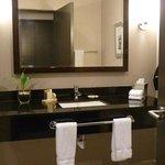 Good height countertops, quality granite