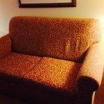 Soiled sofa