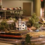 Amazing huge model train layout