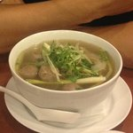 Pho tai, bo vien (Beef noodle)