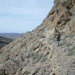 Hiking gunsite mine area