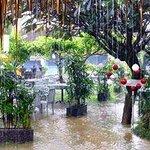 More restaurant in the rain