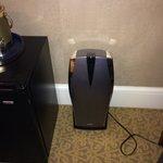 Noisy air filtration Rm 801