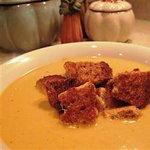 A delicious squash and cauliflower soup like Mama use to make