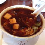 Hot n Sour soup...nice tangy feeling