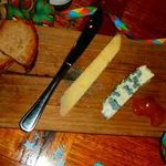 Cantal and Roquefort board