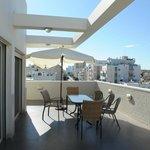 Our Penhotuse Suit sun roof balcony