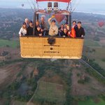Balloons over Bagan - what it's like
