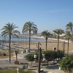 The main Sitges beach