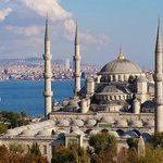 Blue Mosque/Sultanahmet cami by Tung Han-Ning