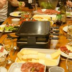 Raclette Night in the Chalet!