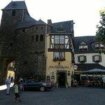 Hotel con torre antica