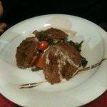 Plat : filet de porc en croute (avec gratin dauphinois et légumes de saisons)