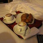 Colazione in camera :-)