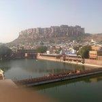 View of Merangarh and Lake
