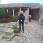 Roman ruins house
