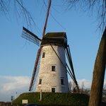 Les moulins sur la route de Damme