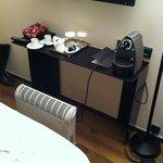 Heater in room