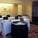 Lagniappe Room set up for my HazMat Employee and RCRA Training Seminar
