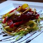 Roast Pepper & Courgette Salad
