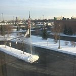 Picture from room on a cold snowy day!