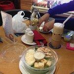 salade uit de koffiecorner