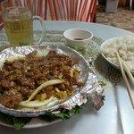 Wikd pork hot plate