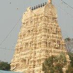 Temple entrance