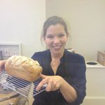 Pleased as punch with my loaf at Harthill Cookery School