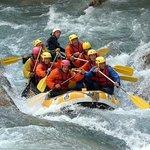 Descente de rafting à Castellane