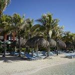 artificial beach pool